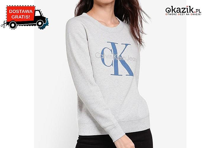 Bawełniana bluza damska Calvin Klein. Dwa kolory do wyboru