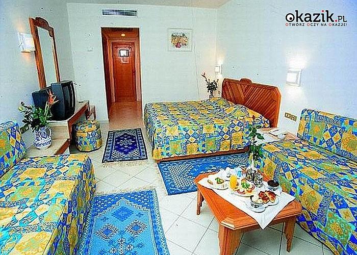 Przepiękna Tunezja! Golf Residence! 8-dniowy pobyt w Sousse! Lot samolotem! Wyżywienie!