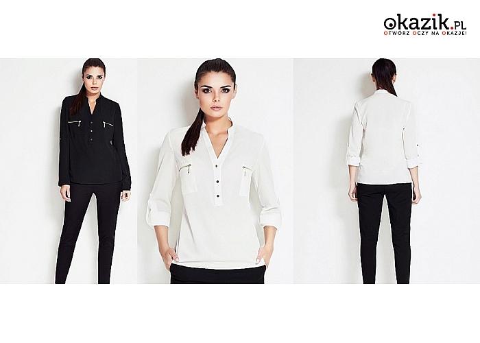 Elegancka koszula damska na długi rękaw. 3 modele do wyboru