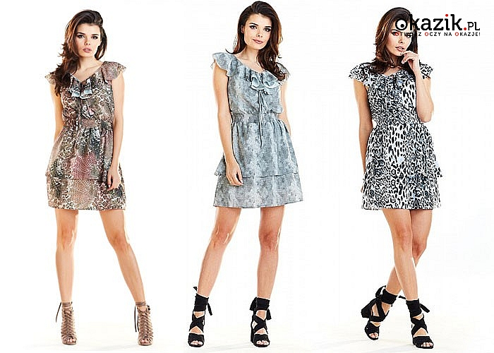 Bardzo atrakcyjna sukienka Letnia z materiałów wysokiej jakości. Lekka i bardzo kobieca