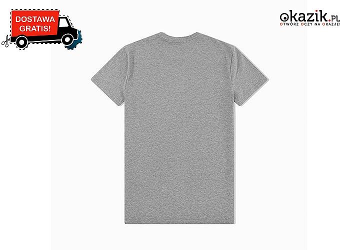 T-shirt jednej z wiodących marek! Koszulka męska od Calvina Kleina w trzech kolorach do wyboru!