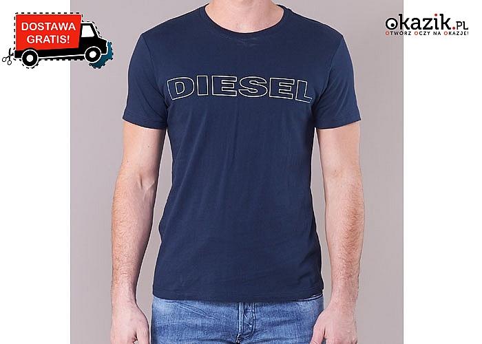 Bluzka męska oryginalnej marki Diesel! Szeroki wachlarz rozmiarów! Darmowa dostawa!