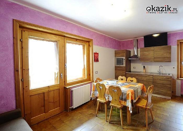 Pobyty z nartami w tle! 8- dniowy wyjazd w Włoskie Alpy- noclegi w przestronnym apartamencie, dojazd własny.
