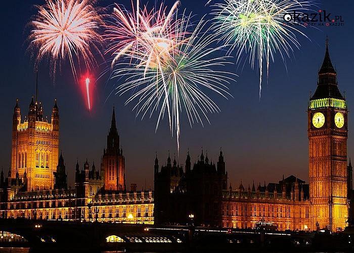 Przywitaj nowy rok w Angielskiej stolicy - Londynie! Nocleg! Wyżywienie! Autokar klasy PREMIUM! Opieka pilota!