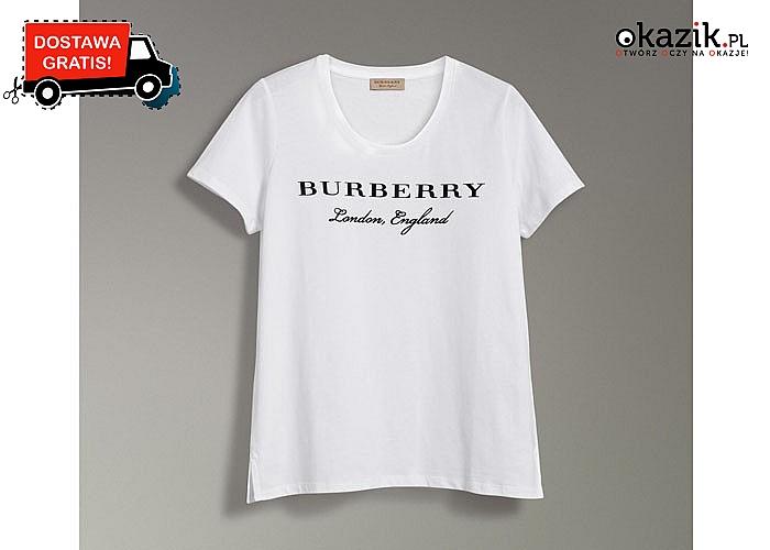 HIT! Bluzka damska Burberry! Najwyższa jakość wykonania! 3 kolory i mnóstwo rozmiarów!