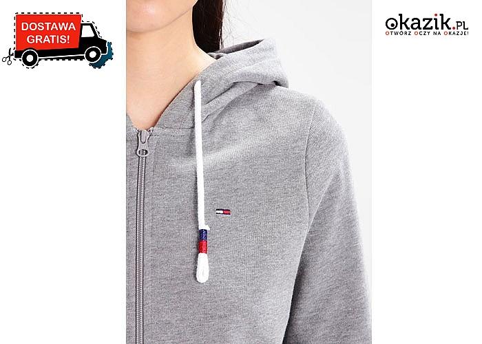 Tommy Hilfiger dla każdej kobiety! Sportowa bluza zapinana na zamek w dwóch kolorach do wyboru.