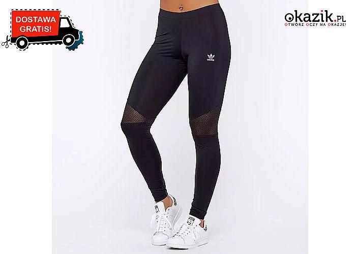 Komfortowe i stylowe! Legginsy damskie Adidas! Doskonała jakość wykonania!