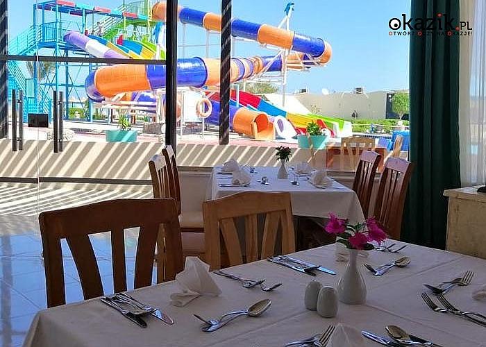 Gorące afrykańskie słońce, piaszczyste plaże, przepiękne rafy koralowe! Wakacje w Bella Rose Aqua Park w Hurghadzie!