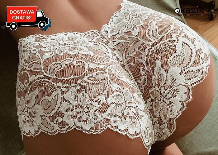 Wow!  Bardzo zmysłowe, koronkowe majtki dla wyjątkowych kobiet!