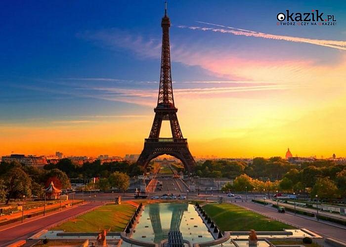 Wycieczka do Paryża z noclegiem! Wyżywienie! Opieka pilota! Transport samolotem!