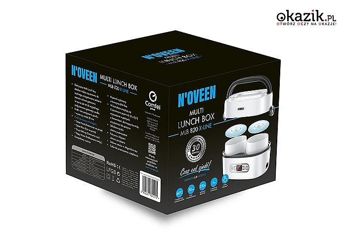 Elektryczny multi podgrzewacz żywności N'oveen! Wygodne i szybkie podgrzewanie gotowego posiłku! 2 modele do wyboru!