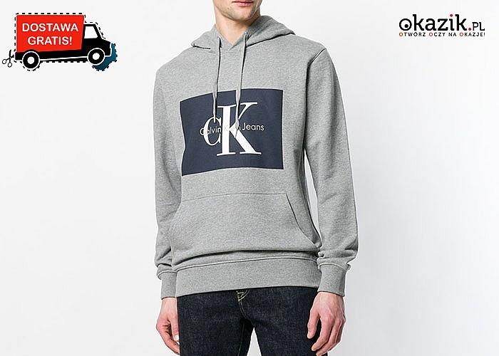 Sportowa bluza Calvin Klein! Model idealny dla każdego mężczyzny!