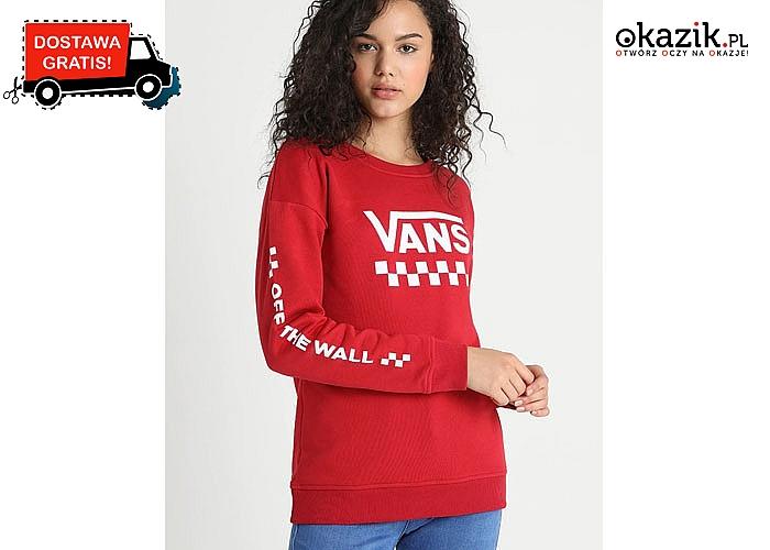 Absolutny HIT! Modna bluza damska Vans! Doskonała jakość! Doskonała na chłodne wieczory!