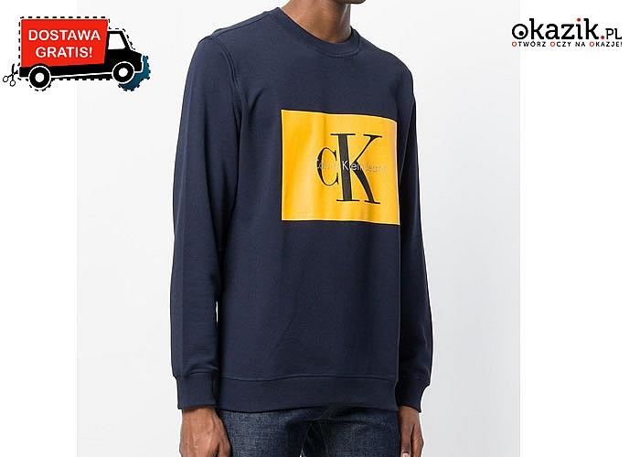 Doskonała dla każdego mężczyzny! Bluza męska Calvin Klein! Doskonała jakość wykonania!