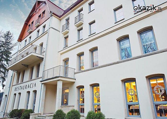 Luksusowy hotel w budynku XIX wiecznego pensjonatu! Pobyty w Spa Medical Dwór Elizy w Długopolu Zdroju