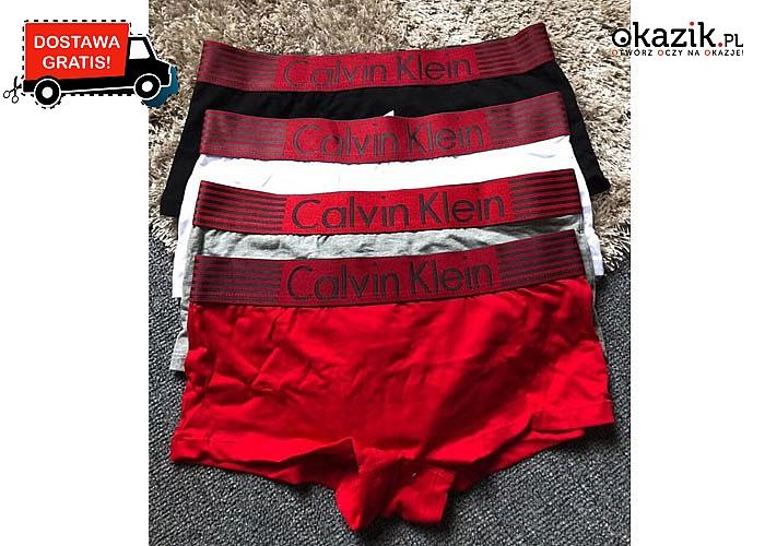 Absolutny HIT! Bokserki damskie Calvin Klein! Najwyższa jakość wykonania! Komfortowe! 4 kolory!
