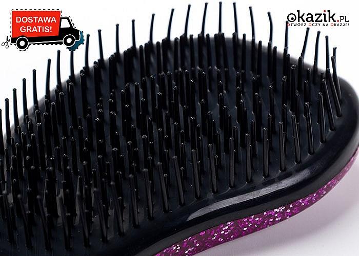 Rewelacyjna szczotka antystatyczna do włosów! Brokatowa wersja Tangle Teezer dla każdej dziewczynki!