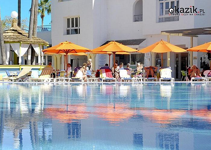 Wczasy w Tunezji! Hotel Nesrine*** w Hammamet na 8-dniowe pobyty All Inclusive z animacjami dla dzieci i dorosłych!