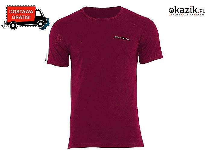Koszulka męska Pierre Cardin! Do wyboru dwa eleganckie kroje! Dostępna w 1 lub 3-paku! 100% Bawełna!