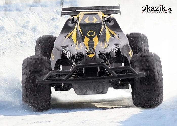 Samochód zdalnie sterowany Overmaxx X-RALLY RC 2.0! 30 minut jazdy bez ładowania!