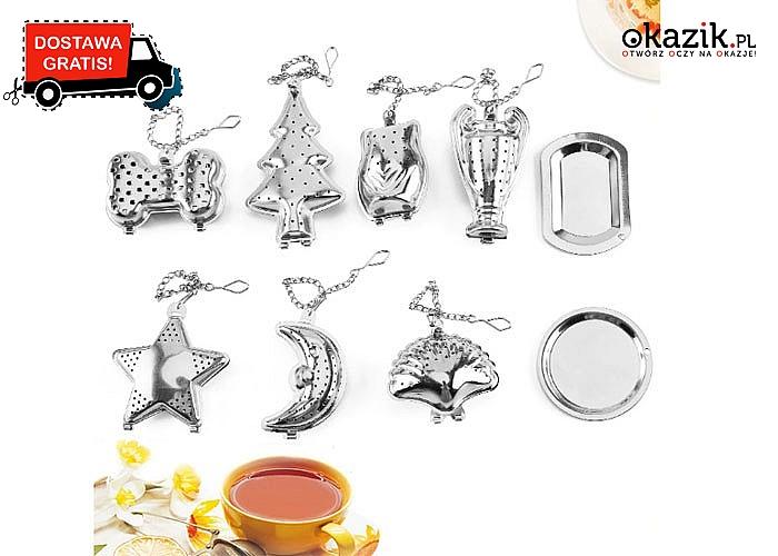 Rewelacyjne zaparzacze do herbaty ze stali nierdzewnej na łańcuszku – różne modele do wyboru!