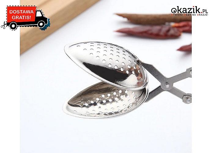 Super praktyczny zaparzacz do herbaty ze stali nierdzewnej!