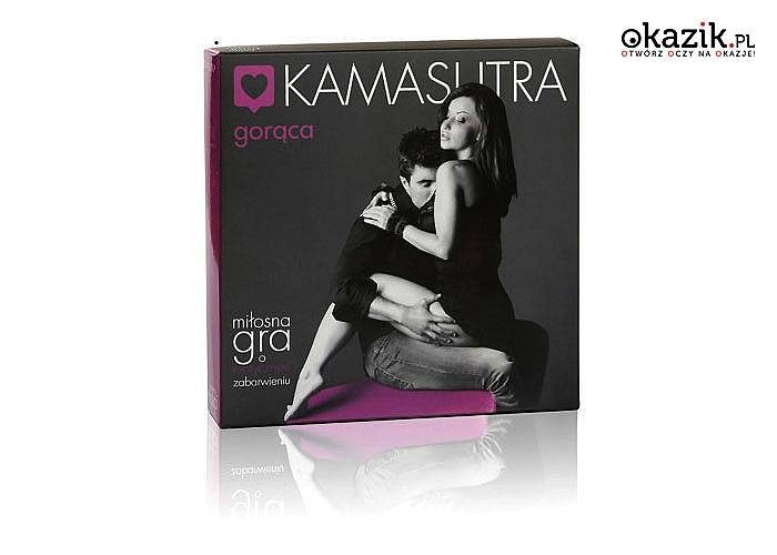 Kamasutra - gra dla par. Ośmiel ją i zrób co tylko chcesz!