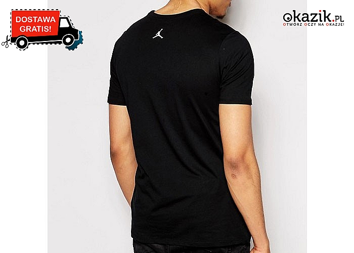 Jordan Air! Sportowy t-shirt męski Nike w czterech wariantach do wyboru.