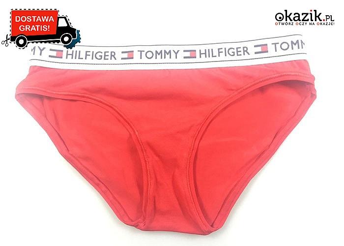 Majtki damskie Tommy Hilfiger! Najwyższej jakości materiał! 4 kolory do wyboru!