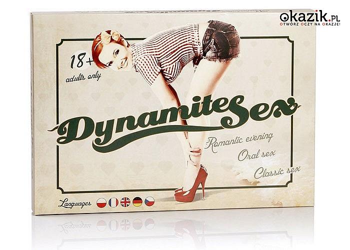 Międzynarodowa gra erotyczna - Dynamite sex. Prawdziwy, erotyczny i ostry!