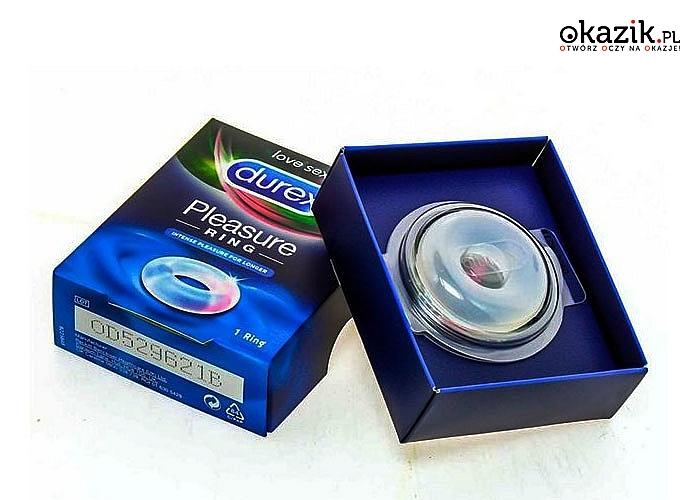 Durex Pleasure Ring - pierścień erekcyjny! Zwiększa przyjemność dla obojga partnerów!