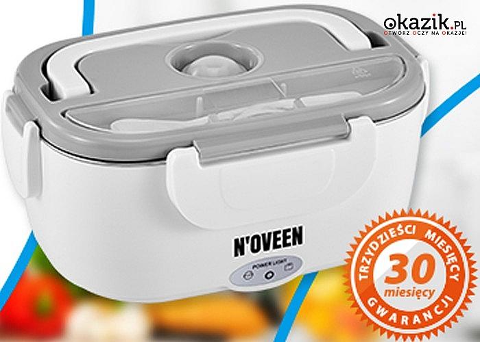 Elektryczny Lunch Box Noveen sprawdzi się w domu, biurze i podróży
