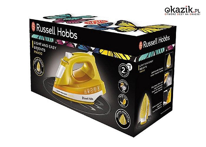 Żelazko Russell Hobbs, to więcej niż jakość, styl i innowacja