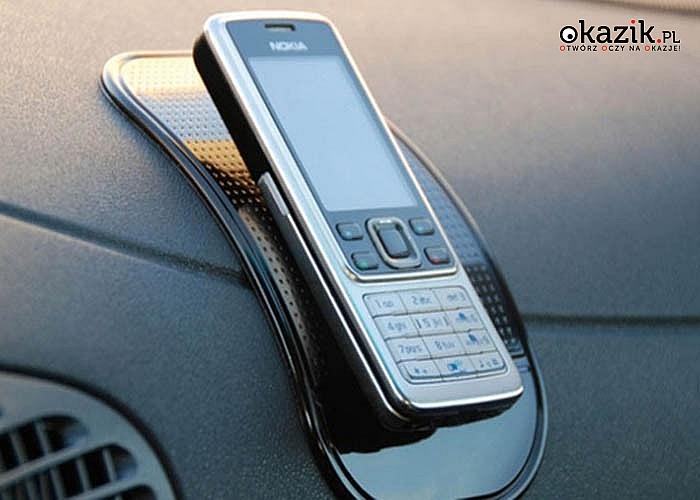 Antypoślizgowa podkładka pod telefon do auta! Znajdź idealne miejsce w samochodzie dla swojego smartfona!