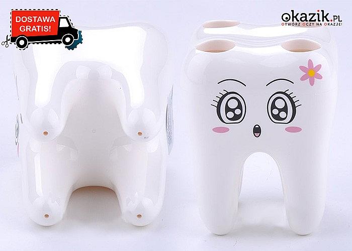 Uroczy kubeczek na szczoteczki do zębów! Najwyższa jakość wykonania!