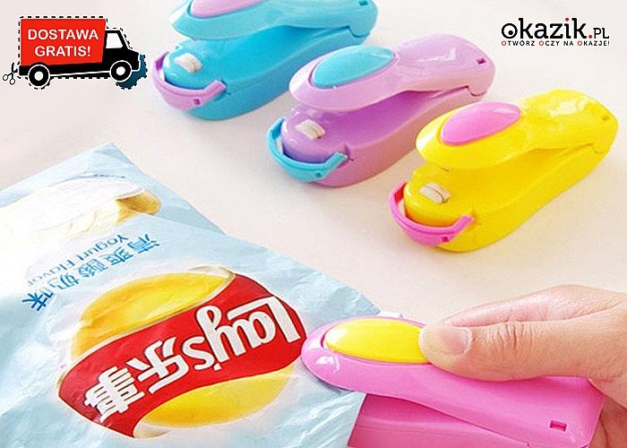HIT! Zgrzewarka, dzięki której zamkniesz każde plastikowe opakowanie! Najwyższa jakość!