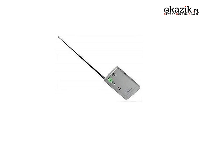 HIT! Wykrywacz podsłuchów, lokalizatorów GPS i kamer bezprzewodowych.