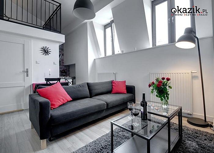 Pobyty w centrum Krakowa! Luksusowe Apartamenty Zamkowa15 z dostępem do WiFi i aneksem kuchennym!