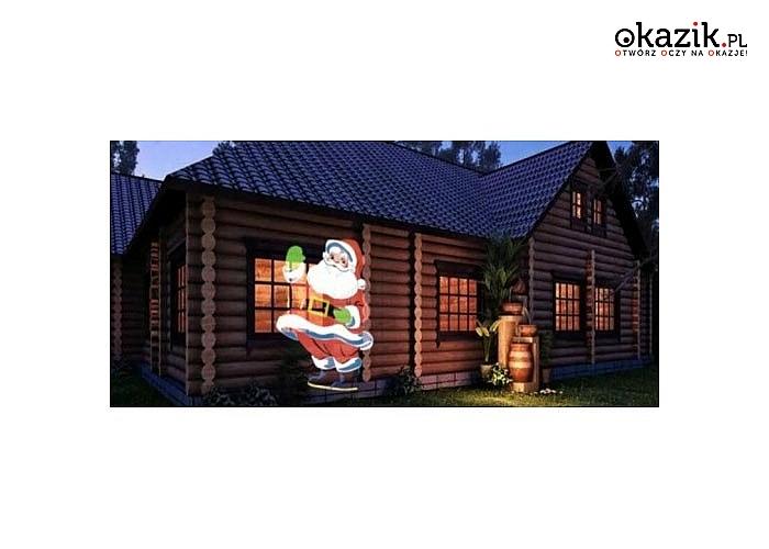Laserowy reflektor Star Shower ozdobi elewację Twojego domu w nadchodzące Święta!