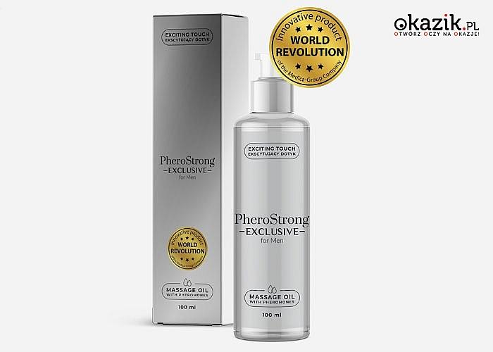 PheroStrong! Stworzone dla kobiet, olejki do masażu z feromonami. Stworzone aby zwiększyć podniecenie i atrakcyjność!
