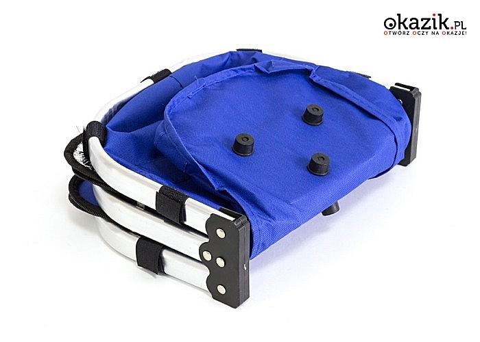 Pojemny termiczny kosz piknikowy - niezastąpiony podczas letnich biwaków na świeżym powietrzu lub podczas plażowania