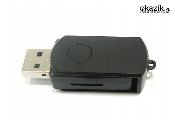 Miniaturowa kamera szpiegowska w kształcie pendrive!