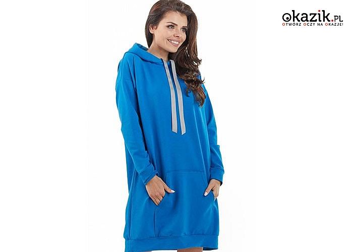 Bluza zaprojektowana z myślą o kobietach , które chcą w każdej sytuacji czuć się komfortowo i świetnie wyglądać