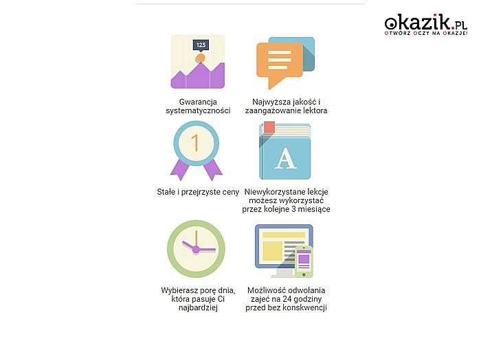 Efektywna nauka języka angielskiego lub niemieckiego z lektorem online! Indywidualne lekcje Skype!