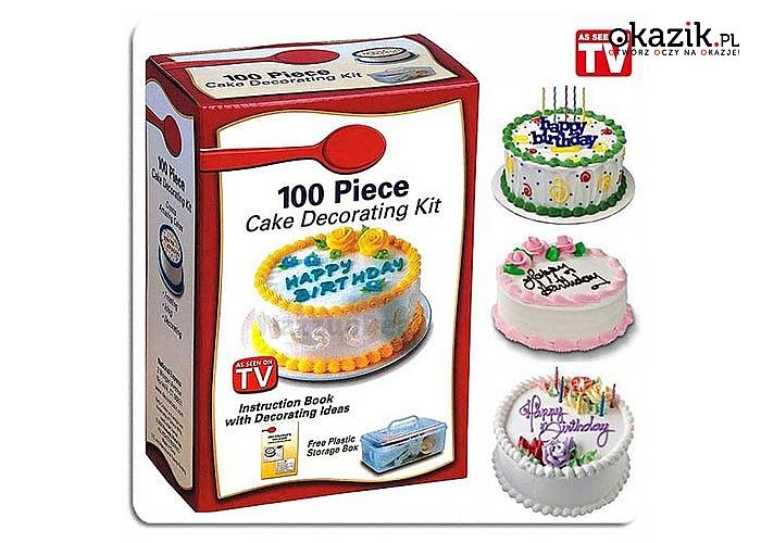 Z tym zestawem udekorujesz każdy tort i ciasto! Doskonałe wykonanie!