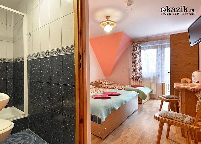 Ferie zimowe w Domu Wczasowym Harnaś! Pokoje z łazienką oraz  Tatrzańska Karta Rabatowa dla gości!