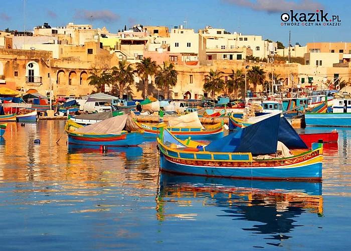 Malta- Śródziemnomorska księżniczka! 8 dniowe wakacje na przepięknej wyspie! W cenie przelot, noclegi, zwiedzanie.