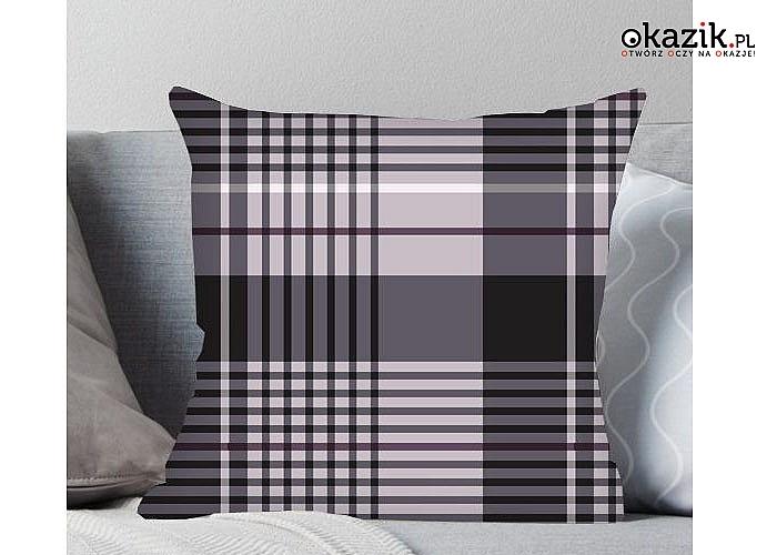 Idealne na kanapę i do łóżka! Stylowa poszewka na jasiek w 8 wzorach do wyboru!