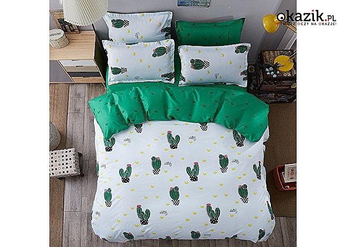 Zmień wystrój sypialni w prosty sposób! Przepiękna bawełniana pościel w 6 wzorach do wyboru.