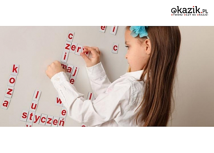 Zabawka edukacyjna, która zamieni naukę czytania i pisania w świetną zabawę